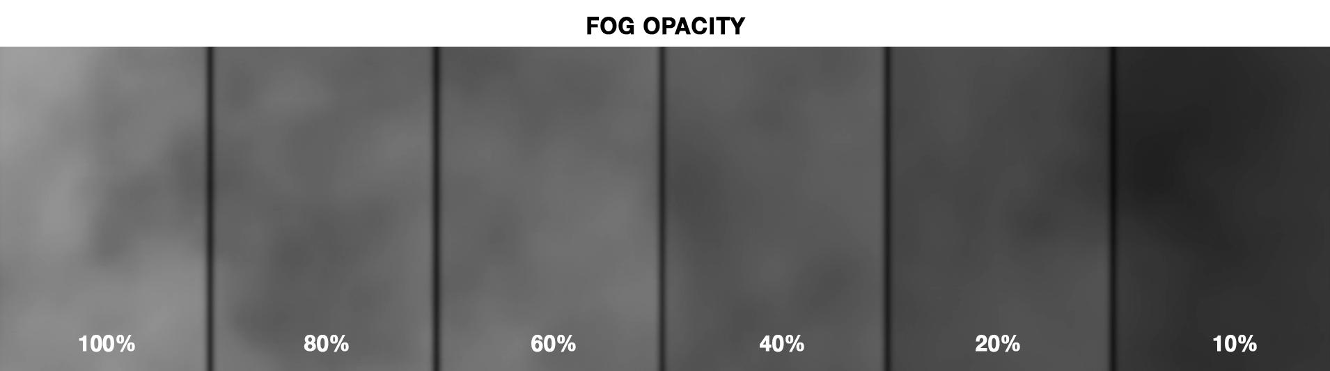 walk into fog - gradient
